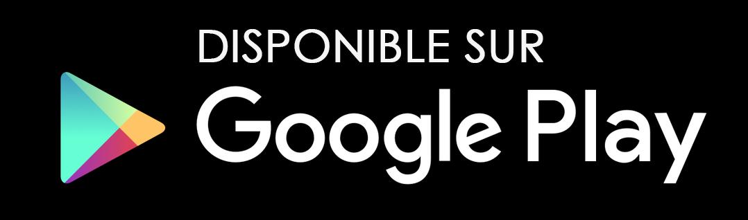 Bouton Google Play Store
